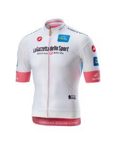 Maillot GIRO D'ITALIA RACE FZ blanc L