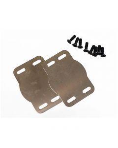Plaque inox de protection semelle V2 - X, Light Action & Zero (semelles 4 trous)