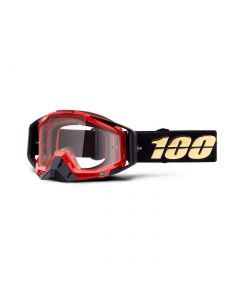 Masque RACECRAFT Hot Rod - Lentilles Transparentes