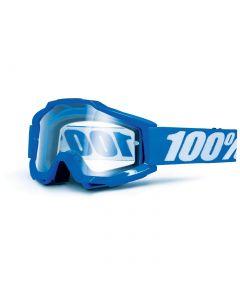Masque ACCURI Bleu Reflex - Lentilles Transparentes