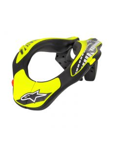 Support de cou YOUTH noir/jaune fluo