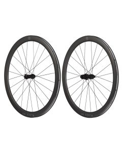 Paire de roues BLACK FIFTY DISC pneus