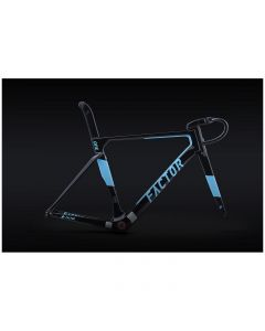 Kit cadre FACTOR ONE V2 - noir AG2R + roues BLACK INC THIRTY/FIFTY