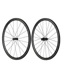 Paire de roues BLACK THIRTY patins boyaux (Shimano) avec roulements Ceramicspeed